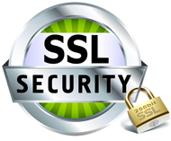 Secure shopping protected by SSL